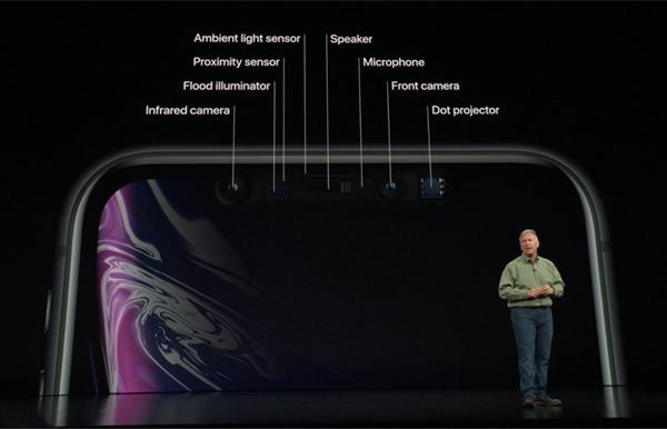 iPhone XRのインカメラ