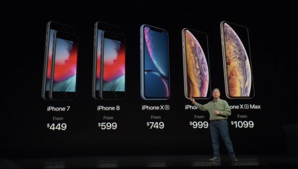 AppleのiPhone XS&iPhone XS max本日発売!