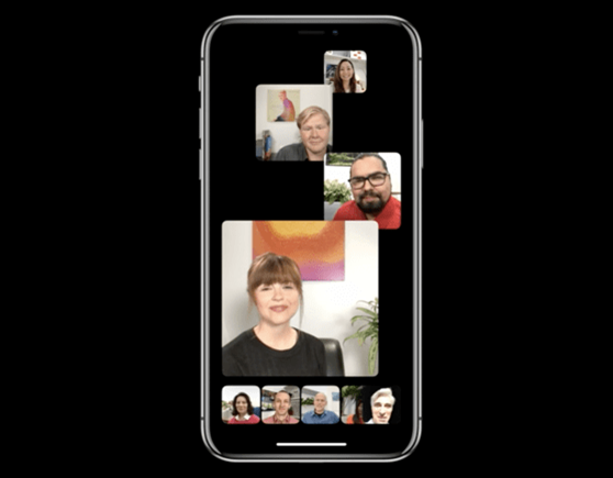 【iOS12.1アップデート情報】最大32人でビデオ通話が可能に