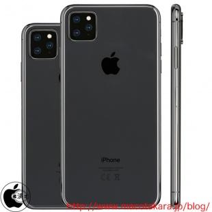 次期iPhone3眼カメラ予想図