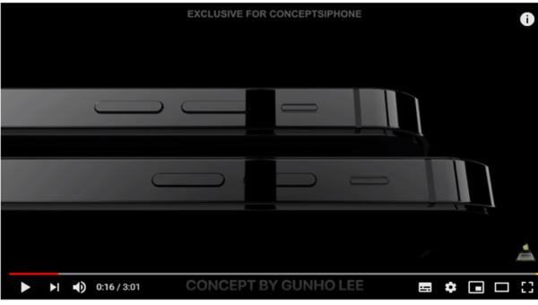 次期iPhone?2019年モデルのコンセプトムービー