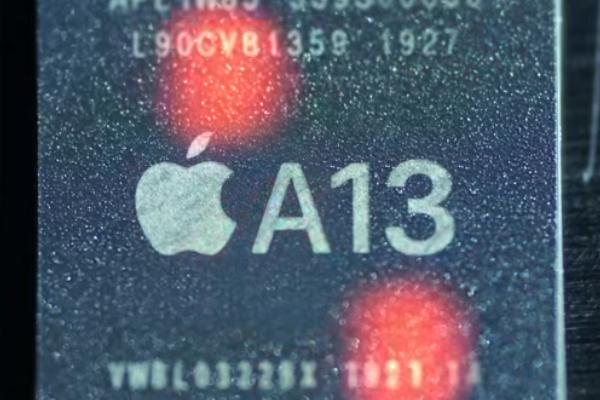 iPhone 11 ProのA13システムチップ