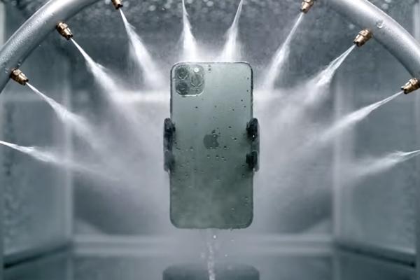 iPhone 11 Proの耐水防塵
