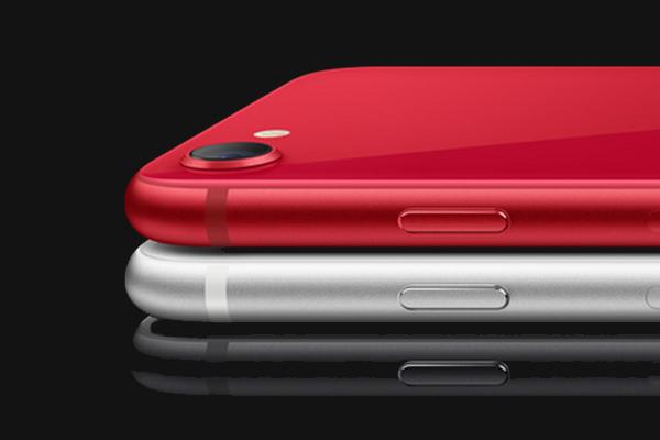 iPhone SE(2nd)のカラーはホワイト、ブラック、(PRODUCT)REDの3種類