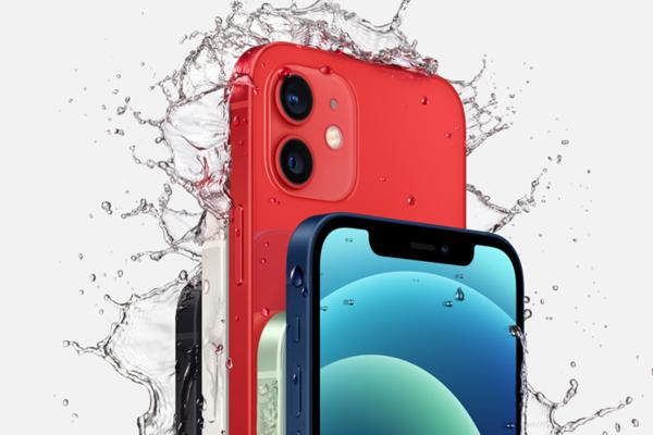 iPhone 12の耐水防塵