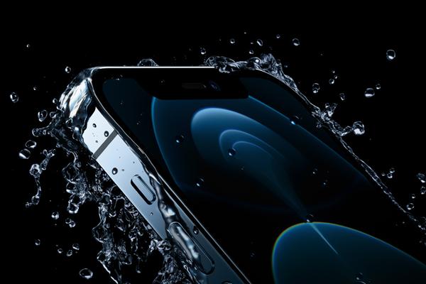 iPhone 12 Proの耐水防塵