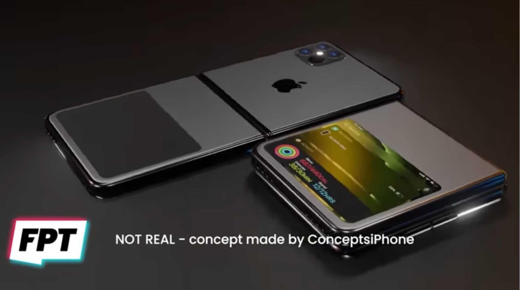 兼ねてから検討されていた2種類のiPhone折り畳み型は、縦折り型に軍配か?