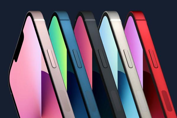 iPhone 13のストレージ&カラー