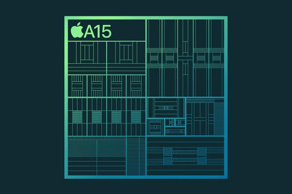 iPhone 13のA15チップ